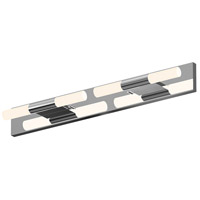 Sonneman 3802.01W Crystal Rods LED 19 inch Polished Chrome Bath Bar Wall Light