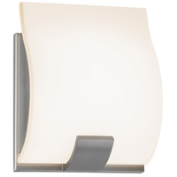 Sonneman Aquo 1 Light Bath Light in Satin Nickel 3881.13