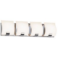 Sonneman Aquo 4 Light Bath Light in Polished Chrome 3884.01