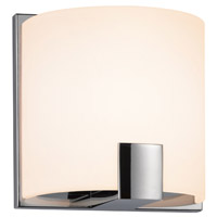 Sonneman 3891.01LED C-shell LED 5 inch Polished Chrome ADA Sconce Wall Light