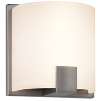 Sonneman C-Shell 1 Light Bath Light in Satin Nickel 3891.13