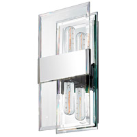 Sonneman Mercer 2 Light Sconce in Polished Chrome 4282.01