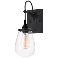 Sonneman Chelsea 1 Light Sconce in Satin Black 4290.25