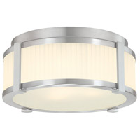 Sonneman Roxy 2 Light Pendant in Satin Nickel 4354.13