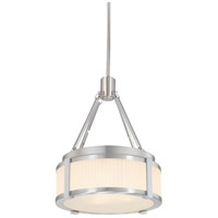 Roxy 2 Light 13 inch Satin Nickel Pendant Ceiling Light