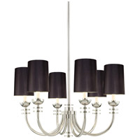 Sonneman Signature 6 Light Pendant in Polished Nickel 4406.35K