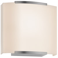 Sonneman Wave Shade 1 Light Sconce in Satin Nickel 4413.13