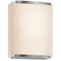 Wave Shade 1 Light 7 inch Satin Nickel ADA Sconce Wall Light