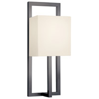 Sonneman Linea 1 Light Sconce in Black Bronze 4441.32