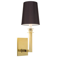 Sonneman Gem 1 Light Sconce in Polished Brass 4452.09K