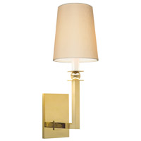 Sonneman Gem 1 Light Sconce in Polished Brass 4452.09W