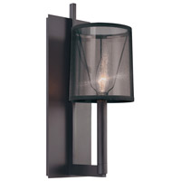 Sonneman Lighting Silhouette 1 Light Sconce in Satin Black 4481.25