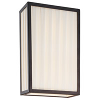 Sonneman Piega 2 Light Sconce in Satin Black 4502.25