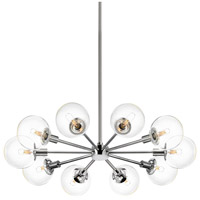 Orb 10 Light 32 inch Polished Chrome Pendant Ceiling Light