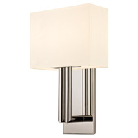 Sonneman Madison 2 Light Sconce in Polished Nickel 4610.35