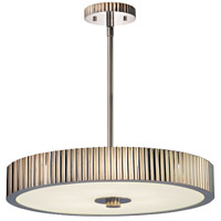 Sonneman Paramount 6 Light Pendant in Polished Nickel 4623.35