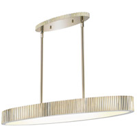 Paramount 6 Light 36 inch Polished Nickel Pendant Ceiling Light