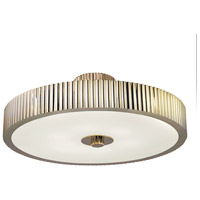 Sonneman Paramount 6 Light Pendant in Polished Nickel 4625.35
