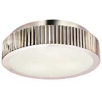Sonneman Paramount 3 Light Flush mount in Polished Nickel 4629.35
