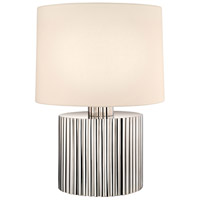 Paramount 22 inch 150 watt Polished Nickel Table Lamp Portable Light