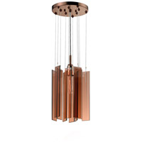 Chimes 1 Light 10 inch Polished Bronze Pendant Ceiling Light