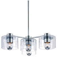 Sonneman Transparence 4 Light Pendant in Polished Chrome 4804.01