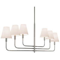 Sonneman Tempo 6 Light Pendant in Polished Nickel 4856.35