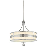 Sonneman Lighting Shanghai 4 Light Pendant in Polished Nickel 4889.35