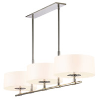Sonneman Soho 6 Light Bar Pendant in Polished Nickel 4953.35