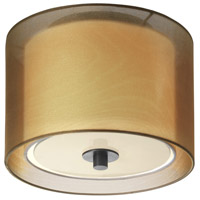 Sonneman Puri 1 Light Pendant in Black Brass 6011.51F