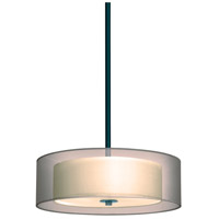 Sonneman Puri 3 Light Pendant in Black Brass 6021.51