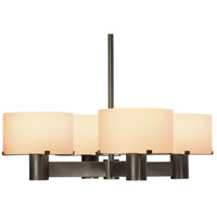 Sonneman Lillet 4 Light Pendant in Black Brass 6053.51