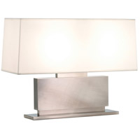 Sonneman Plinth 2 Light Table Lamp in Black Nickel 6055.50