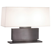 Sonneman Plinth 2 Light Table Lamp in Black Brass 6055.51