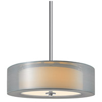 Sonneman Puri Plus 3 Light Pendant in Satin Nickel 6092.13SI