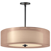 Sonneman Puri Plus 3 Light Pendant in Black Brass 6092.51BZ