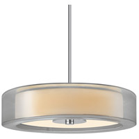 Sonneman Puri Plus 6 Light Pendant in Satin Nickel 6093.13SI