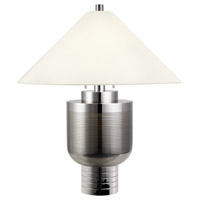 Urn Moderne 31 inch 75 watt Polished Nickel Table Lamp Portable Light