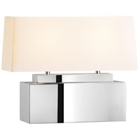 Sonneman Mirror 2 Light Table Lamp in Polished Stainless Steel 6132.08