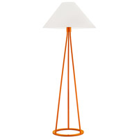 Sonneman Tetra 1 Light Floor Lamp in Gloss Orange 6231.68
