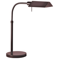 Tenda Pharmacy 16 inch 75 watt Rose Bronze Table Lamp Portable Light