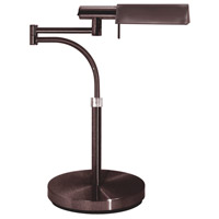 Sonneman E-Tenda 1 Light Table Lamp in Rose Bronze 7014.30