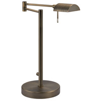 Sonneman D-Lite 1 Light Table Lamp in Europa Bronze 7035.29