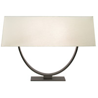 Sonneman Brava 2 Light Table Lamp in Black Brass 7041.51