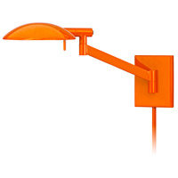 Sonneman Perch Pharmacy 1 Light Sconce in Gloss Orange 7085.68