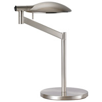 Sonneman Perch Pharmacy 1 Light Table Lamp in Satin Nickel 7087.13