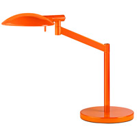 Sonneman Perch Pharmacy 1 Light Table Lamp in Gloss Orange 7087.68