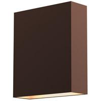 Sonneman 7107.72-WL Flat Box LED 7 inch Textured Bronze Indoor-Outdoor Sconce