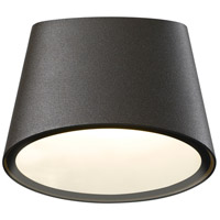 Sonneman Inside-Out Elips - LED Sconce - Textured Bronze Finish - Frosted Shade 7220.72-WL