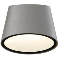Sonneman Inside-Out Elips - LED Sconce - Textured Gray Finish - Frosted Shade 7220.74-WL